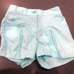 Janie and Jack - 2t - light blue shorts